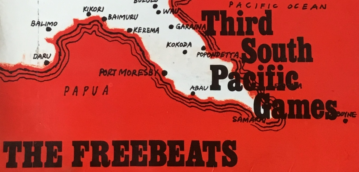 The 3rd South Pacific Games and the early days of Papua New Guinea's music industry